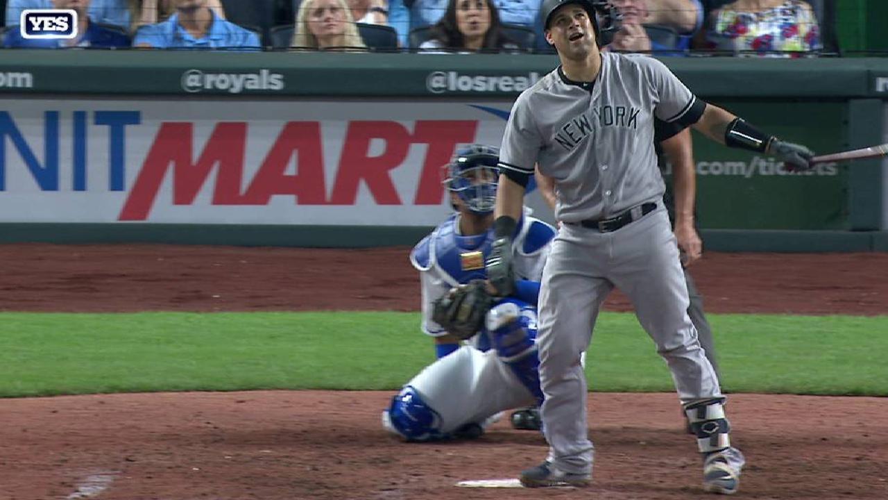 Yankees explotaron con cinco jonrones para derrotar a Reales | New ...