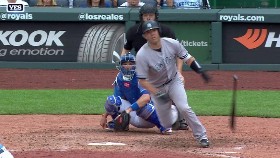 Romine's solo home run