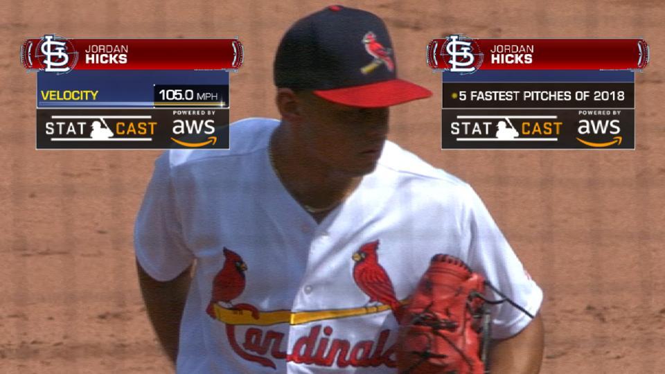 Statcast: Hicks' high heat