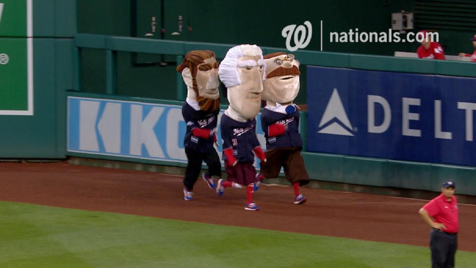 May 22nd Presidents Race