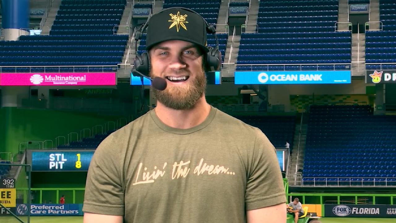 f8ac1af75ed3c4 Bryce Harper told NHL Network why he loves the Las Vegas Golden Knights
