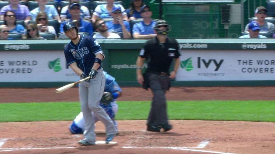 Cron's solo home run