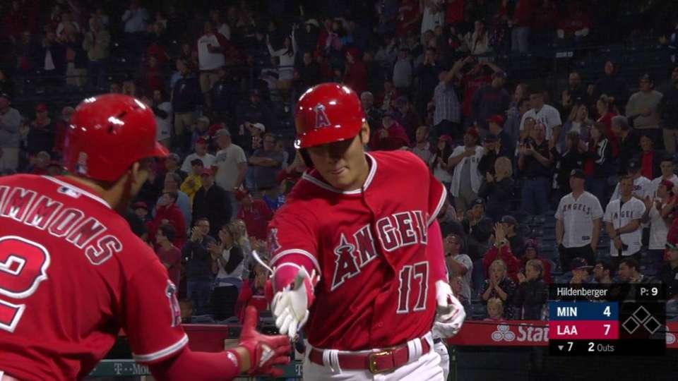 Ohtani's solo home run