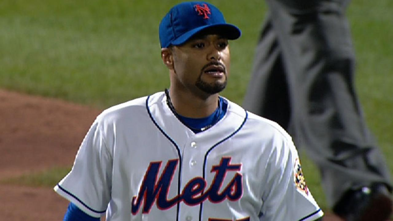 the latest ff9d4 dcca9 Johan Santana throws first no-hitter in Mets history | MLB.com