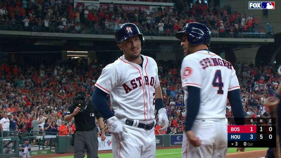 Bregman's 2-run home run