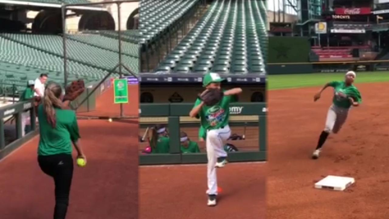 c01186fb1 Minute Maid Park hosts Pitch Hit & Run event