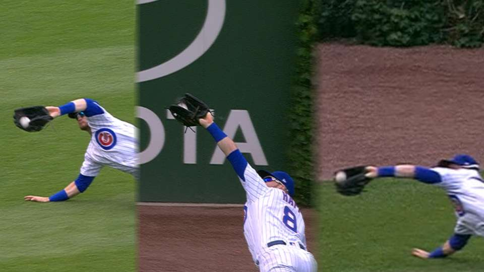 Must C: Happ's trio of catches