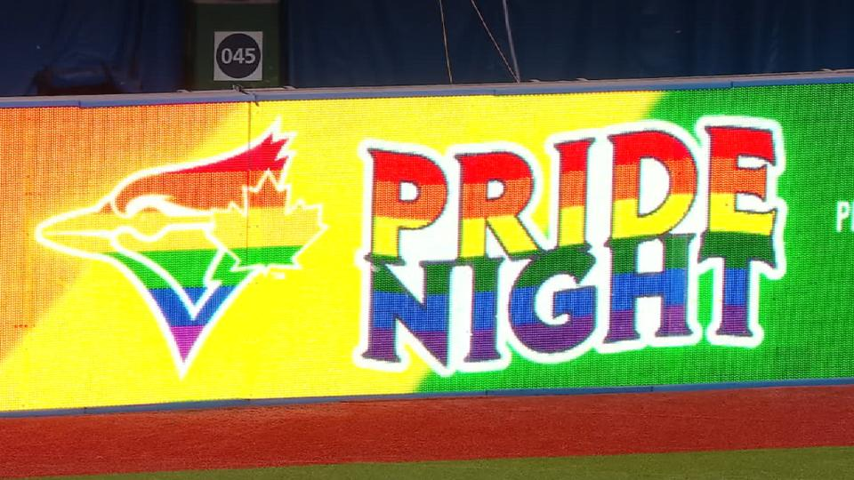 Pride Night at Rogers Centre