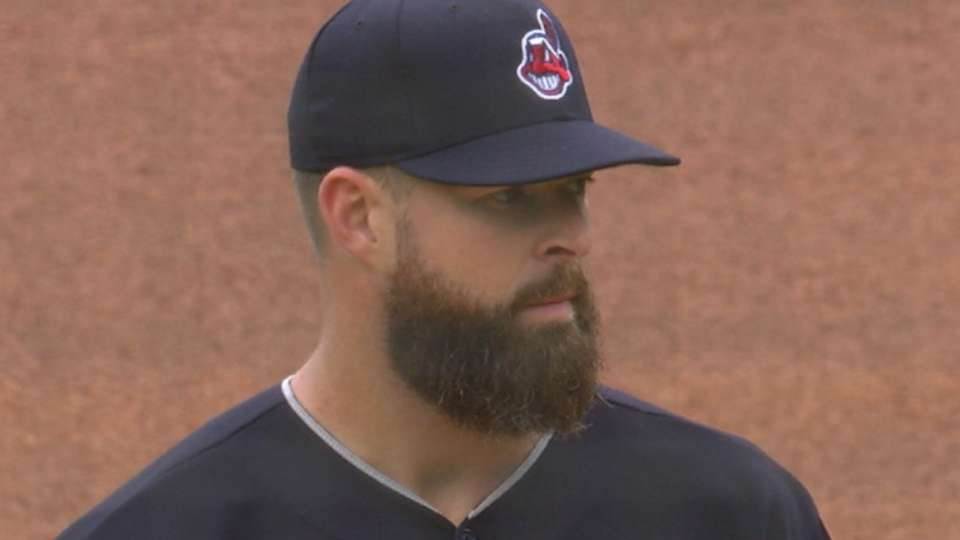 Kluber earns win No. 10