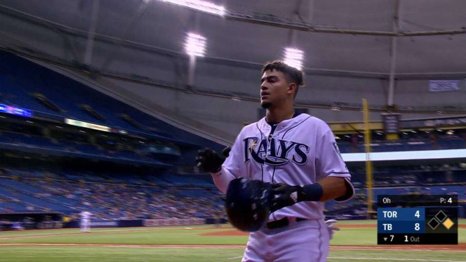 Adames' sacrifice fly