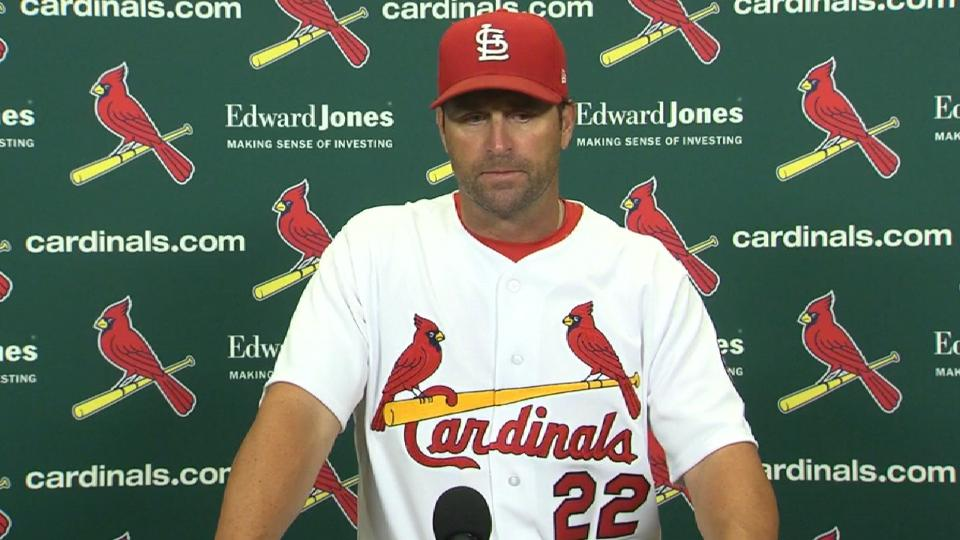 Matheny on win over Padres