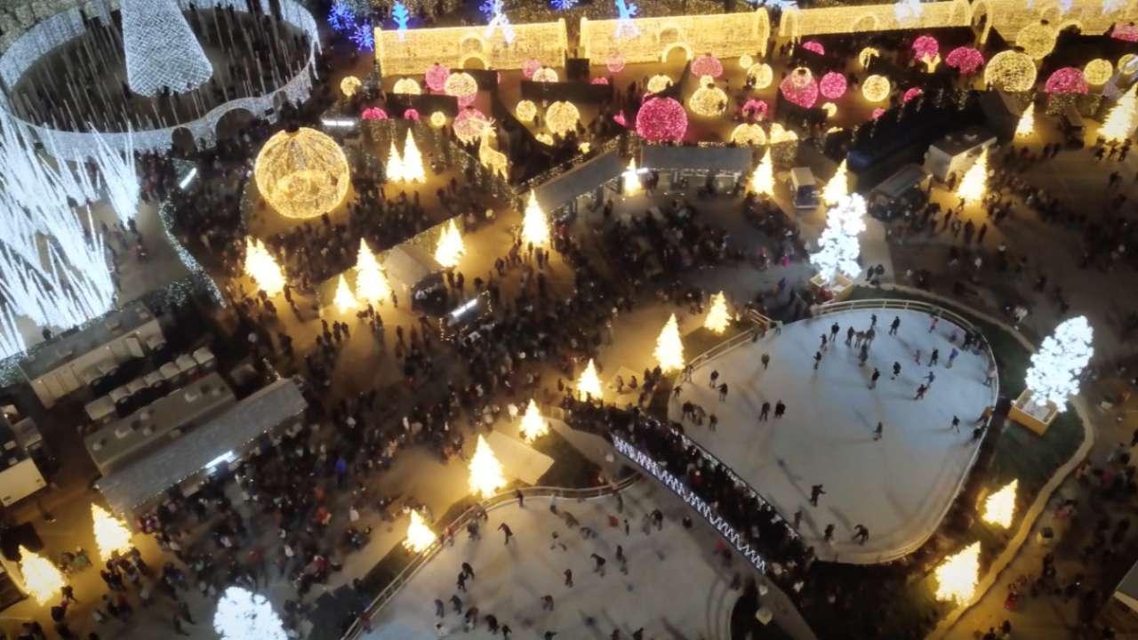 enchant christmas at globe life