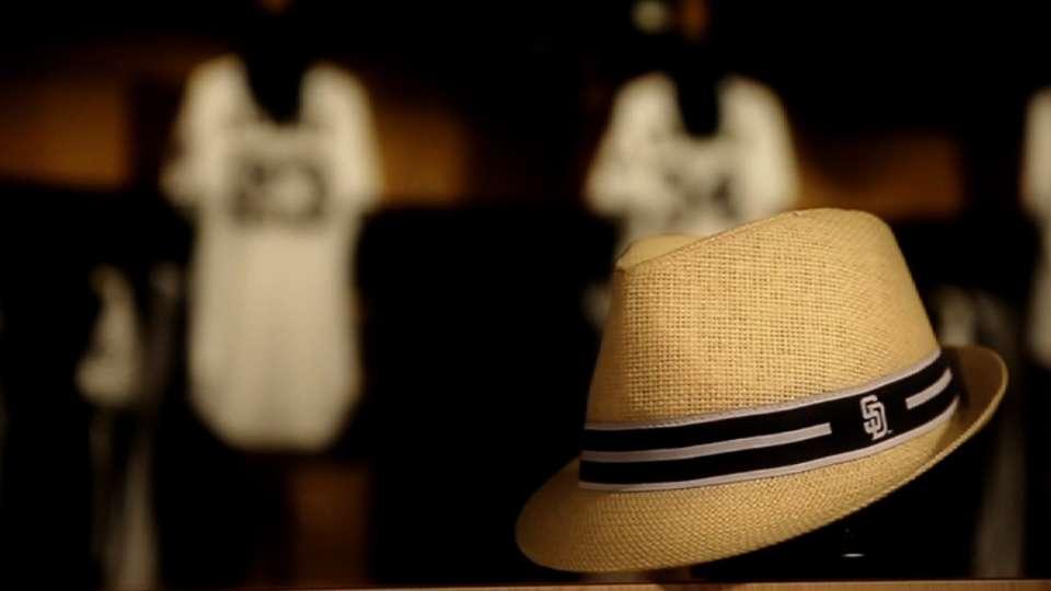 Padres fedora hat giveaway