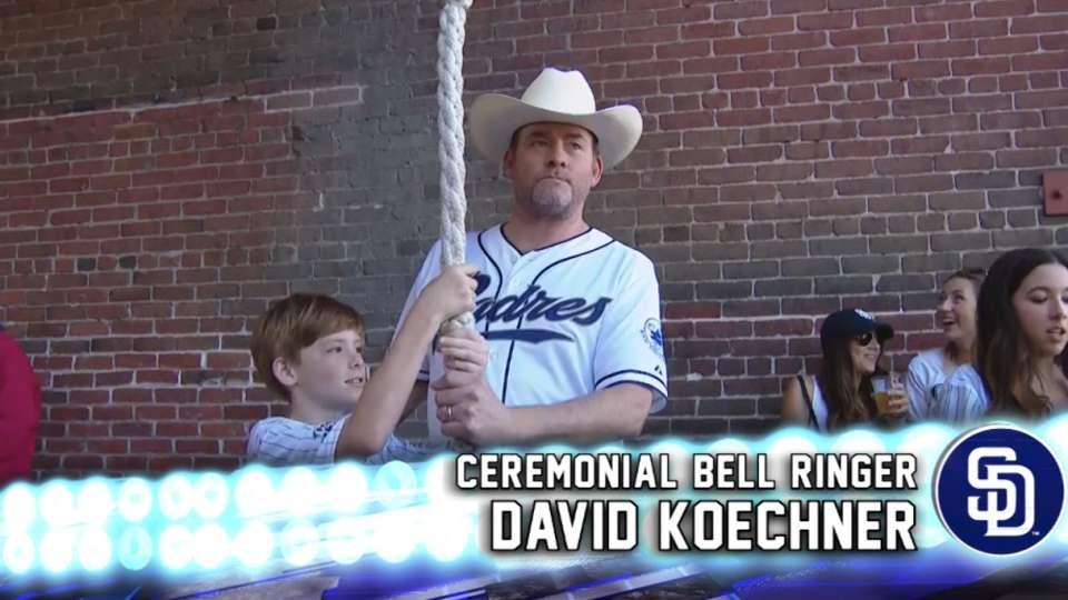 David Koechner is bell ringer