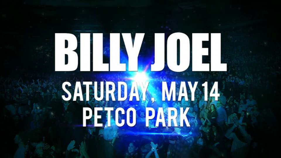 Billy Joel to perform at Petco