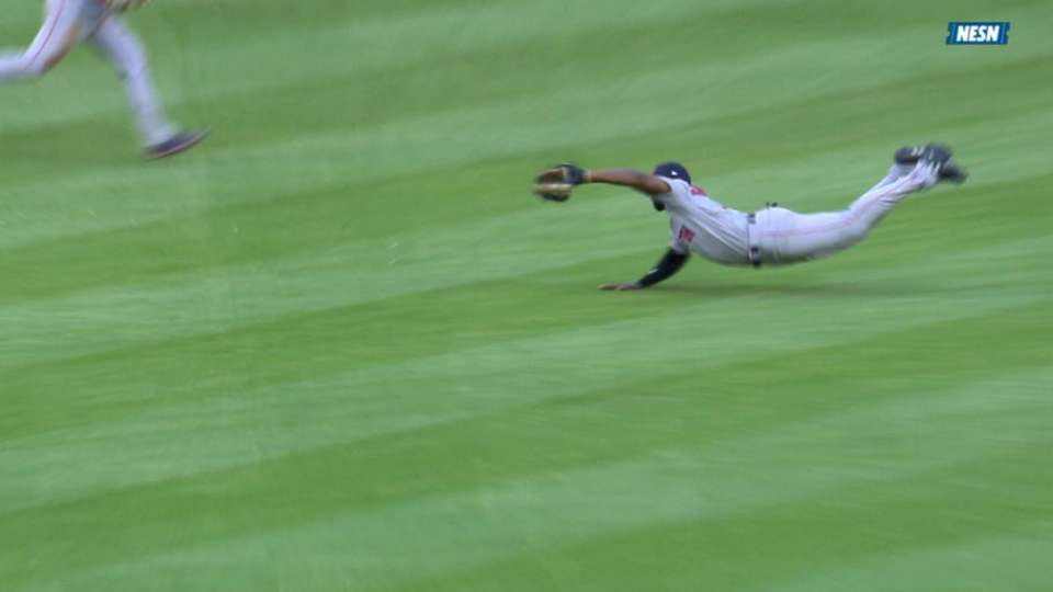 Bradley Jr. lays out to rob Bour