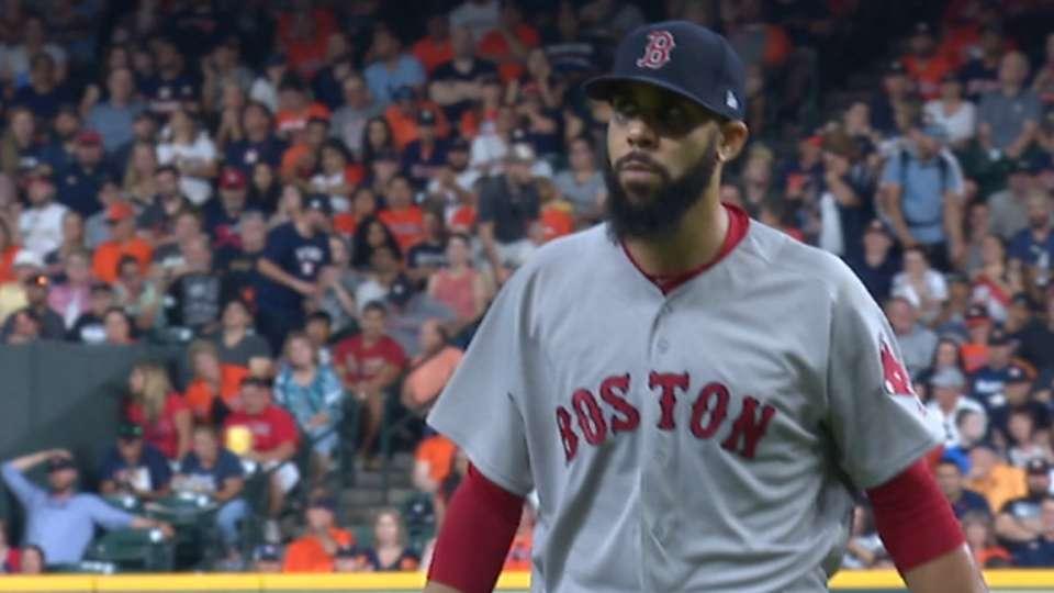 Price strikes out 7 vs. Astros