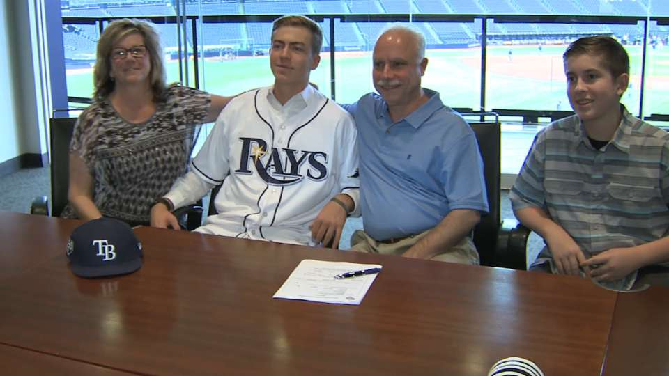 Liberatore on signing with Rays