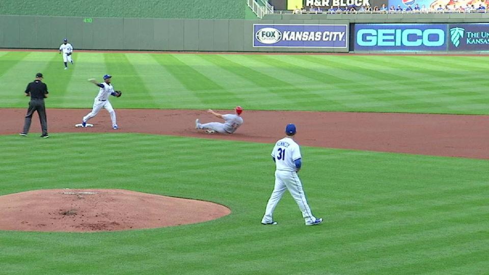 Kennedy induces the double play