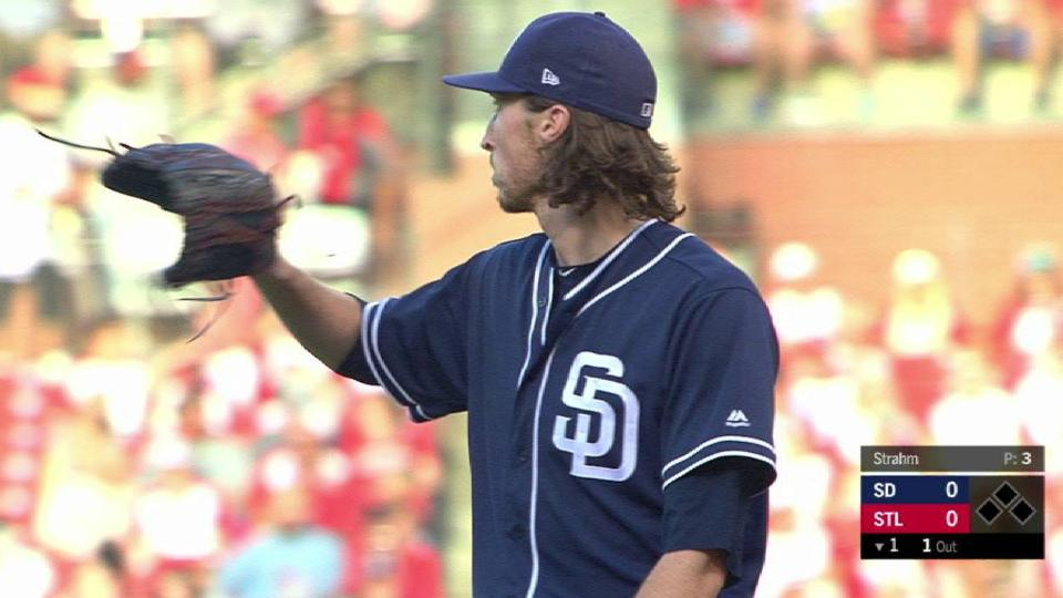 Strahm strikes out Carpenter