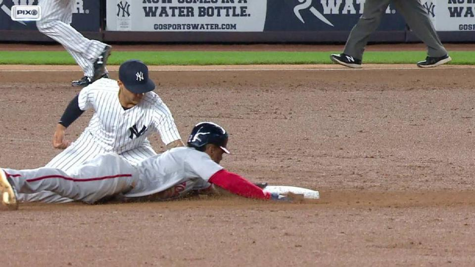 Romine nabs Taylor after review