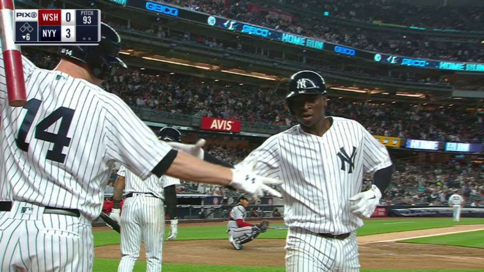 Gregorius belts his 2nd homer