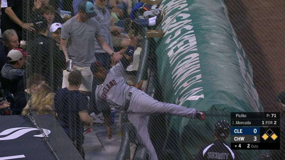 Ramirez's catch in the stands
