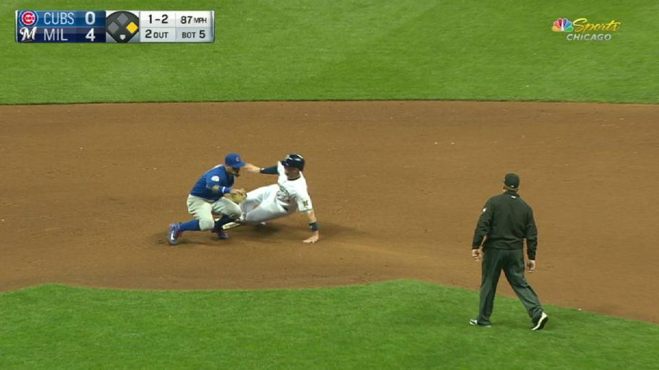 Contreras nabs Shaw at second
