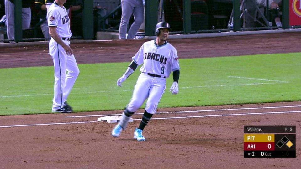 Jay's 1st hit with the D-backs