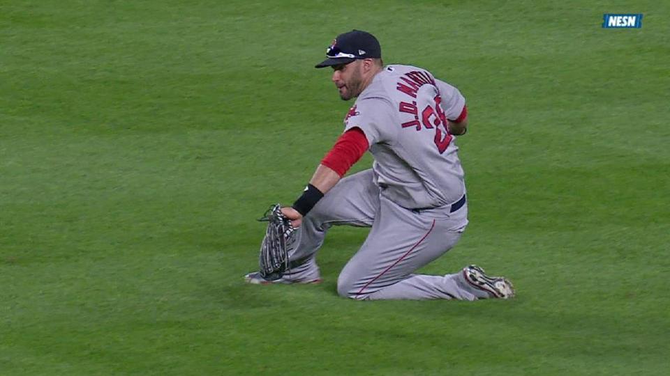 Martinez's athletic catch
