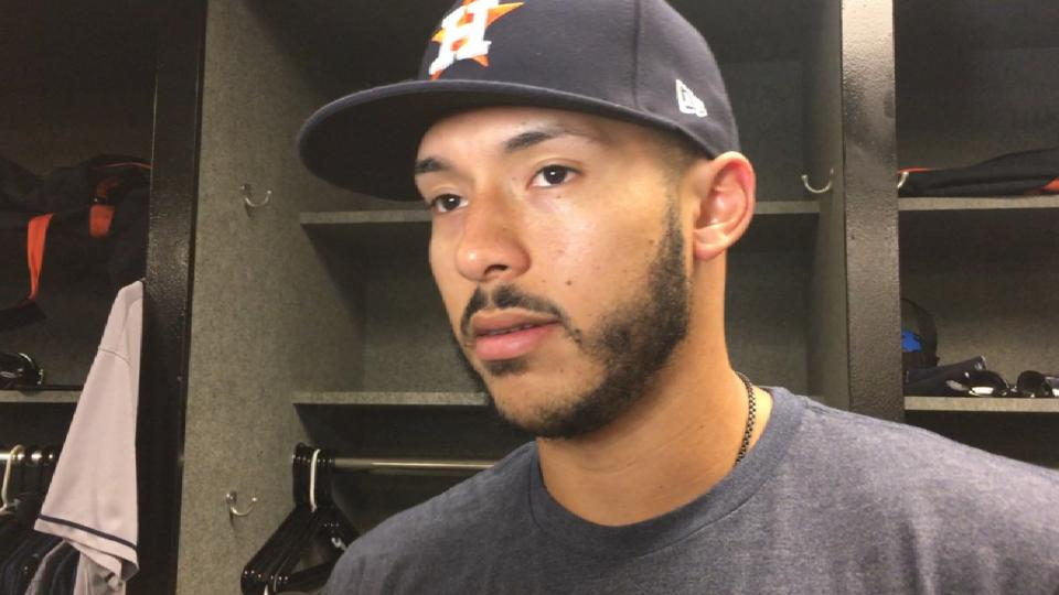 Correa on his return to lineup