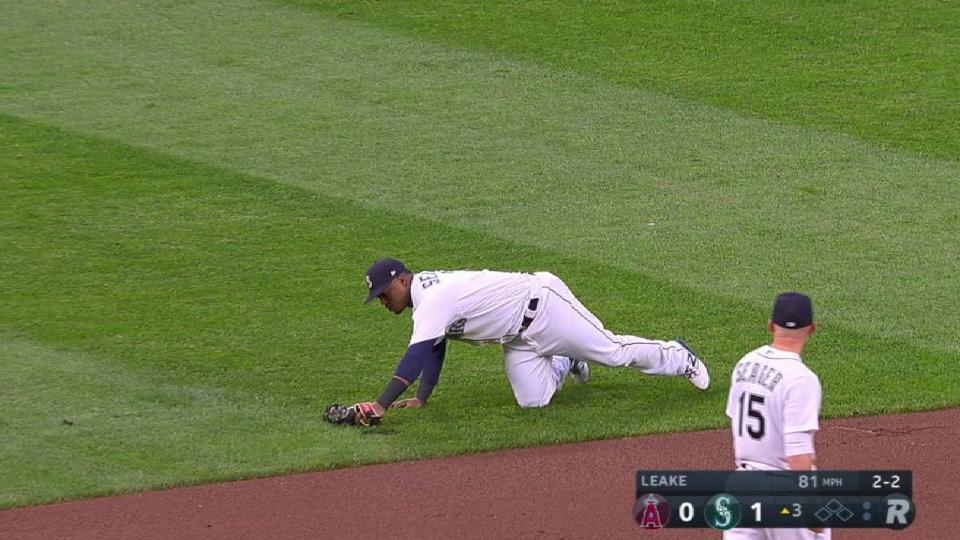 Segura's diving grab