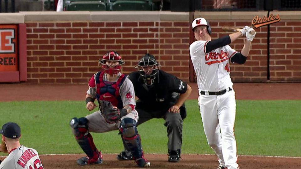 Trumbo's 2-run double