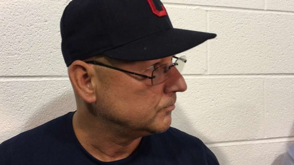 Francona on 5-1 loss to Chicago