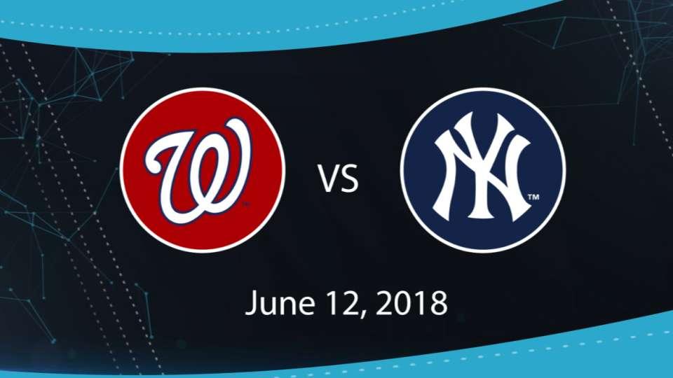 6/12/18: WSH vs NYY Highlights