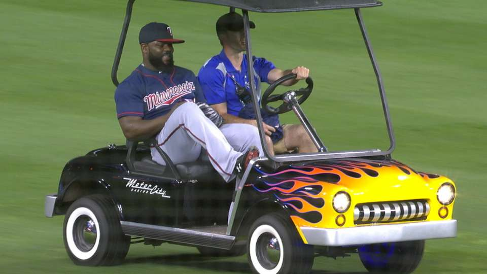 Rodney rides in style