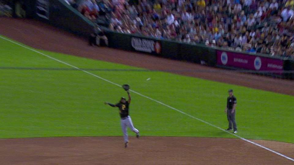Bell's terrific leaping grab