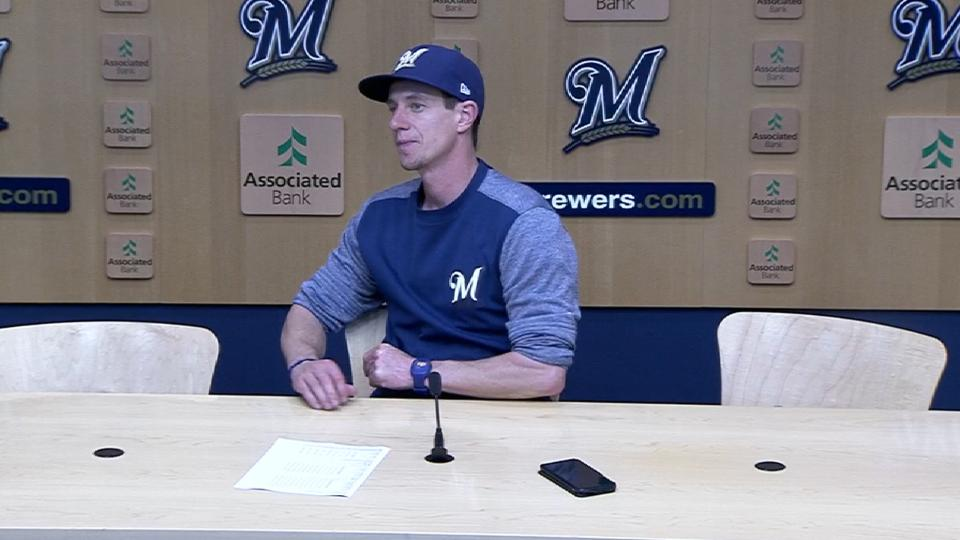 Counsell on Anderson, 4-0 win