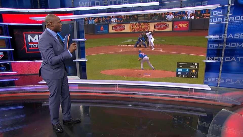 MLB Tonight: Cain's baserunning