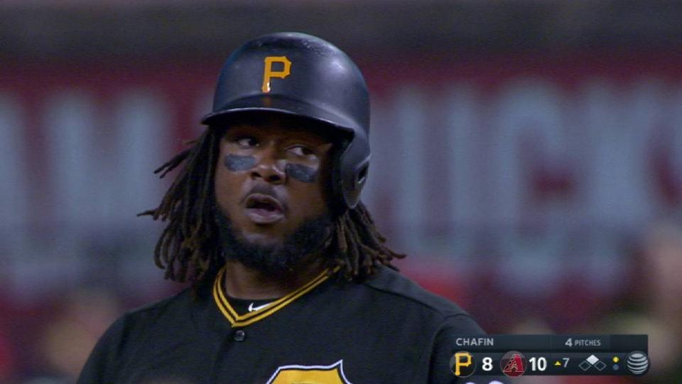Bell's RBI double to left