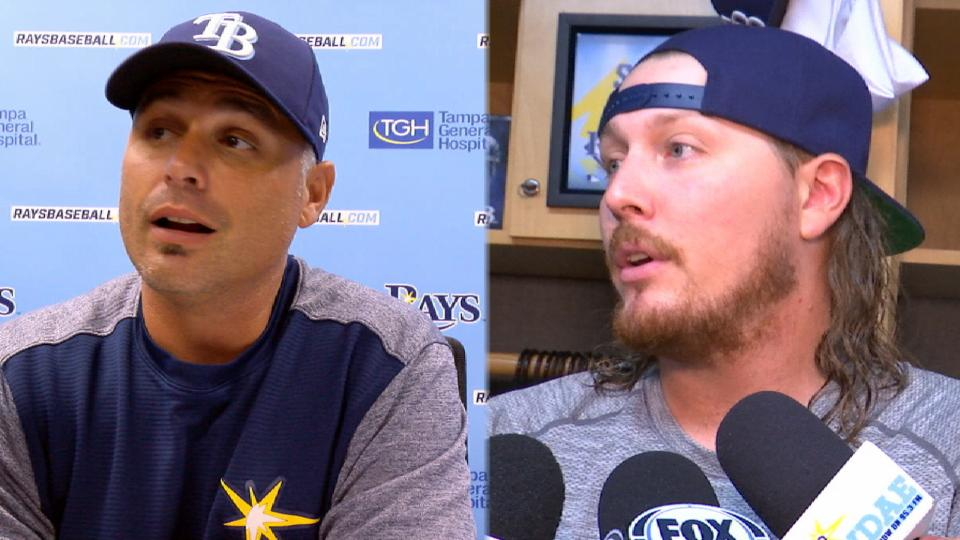 Rays on 4-1 win over Blue Jays