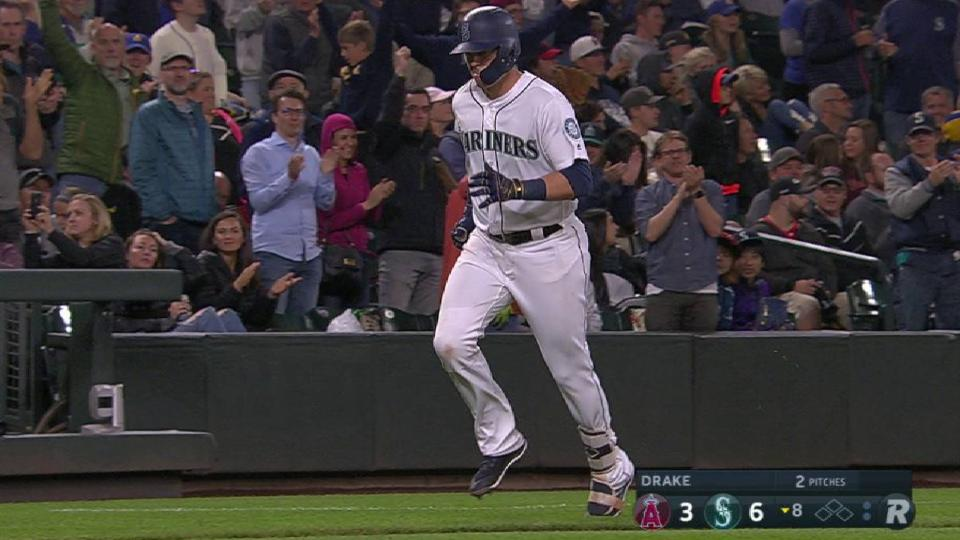 Healy's second homer of the game