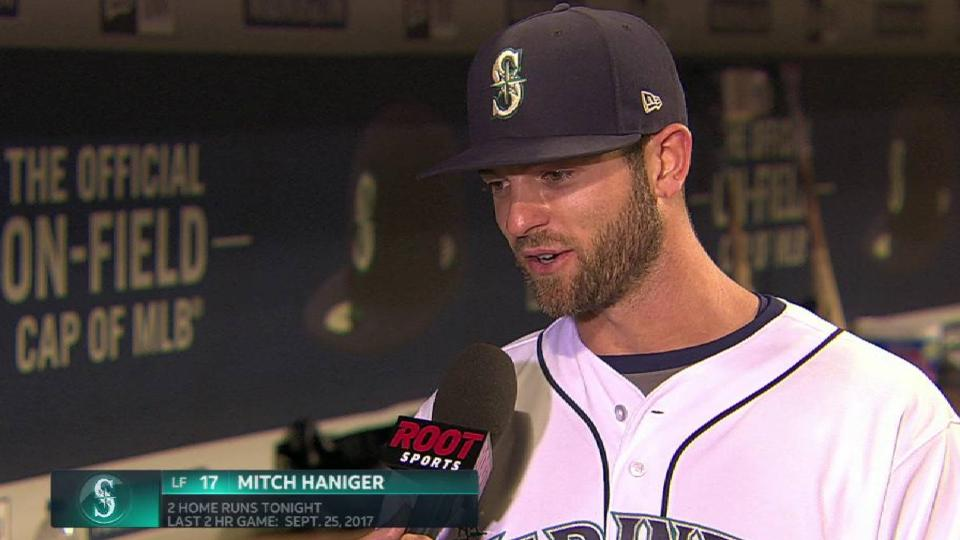 Haniger on his role in 6-3 win