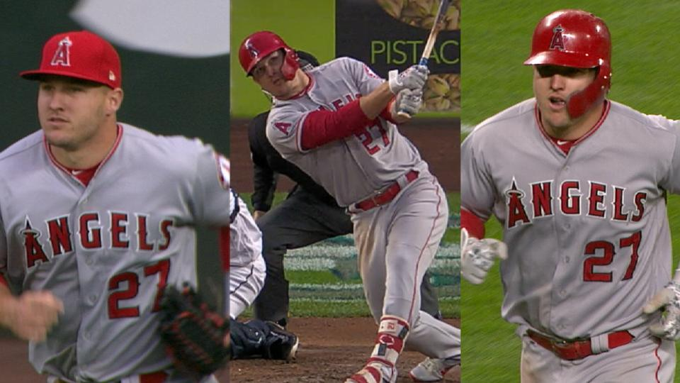 Must C: Trout's grab, two homers