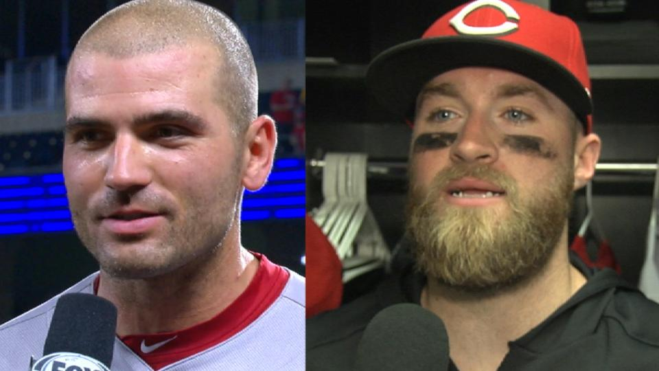 Reds on comeback win over Royals