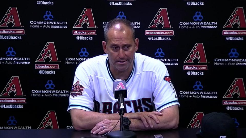 Lovullo on the 13-8 victory