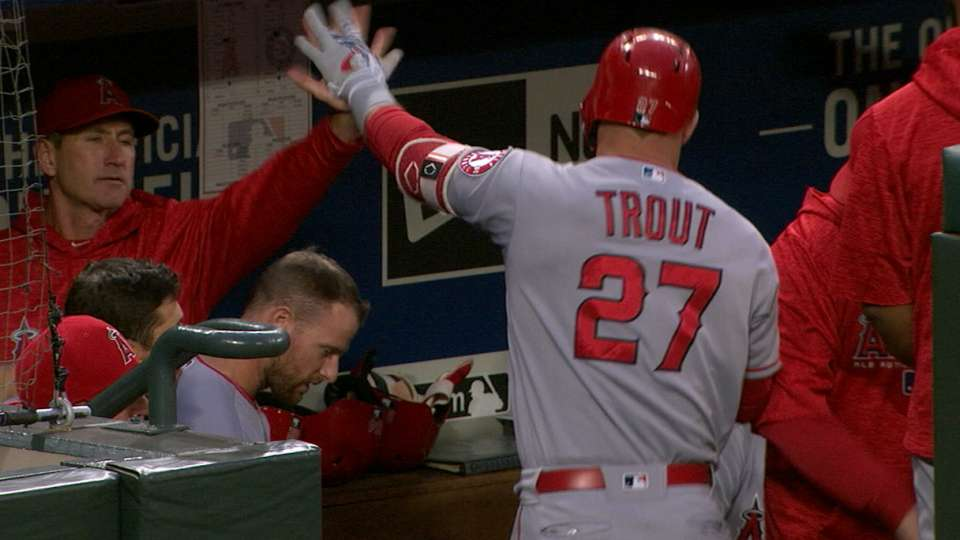 Trout belts 4 HRs over two games