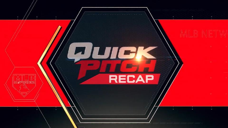 Quick Pitch Recap: 6/12/18