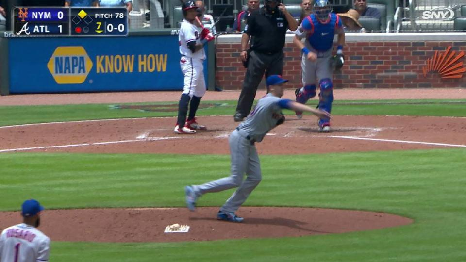 deGrom nabs Inciarte at third