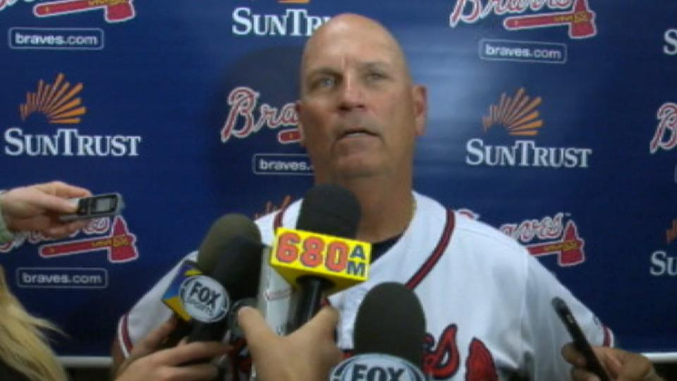 Snitker on Soroka's strong start